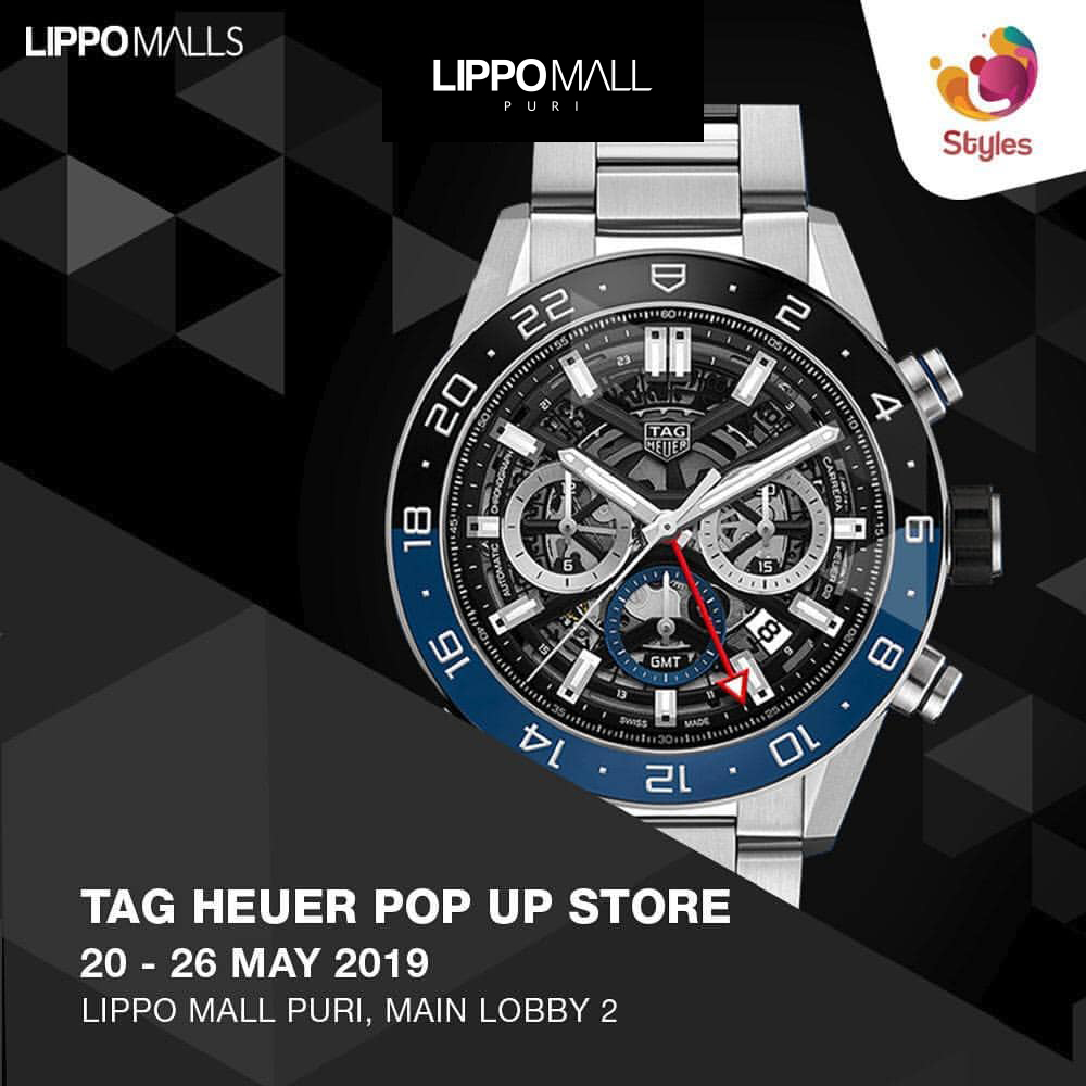 Tag Heuer on Promo in lippo mall puri st. moritz