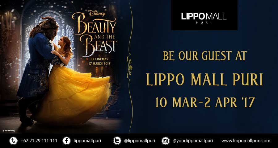 beauty and the beast in lippo mall puri st. moritz
