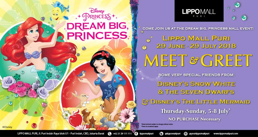 princess event in lippo mall puri st. moritz