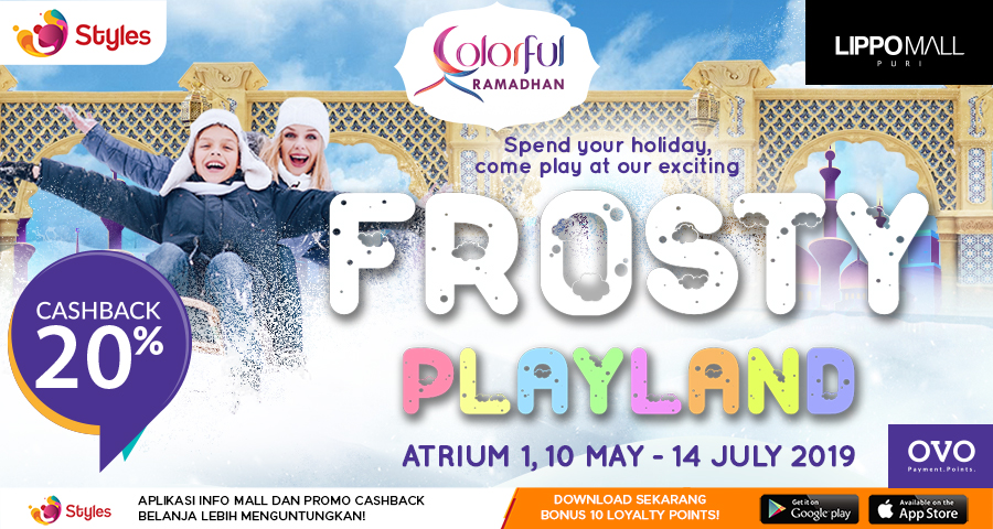 Frosty Playland Promo in lippo mall puri st. moritz