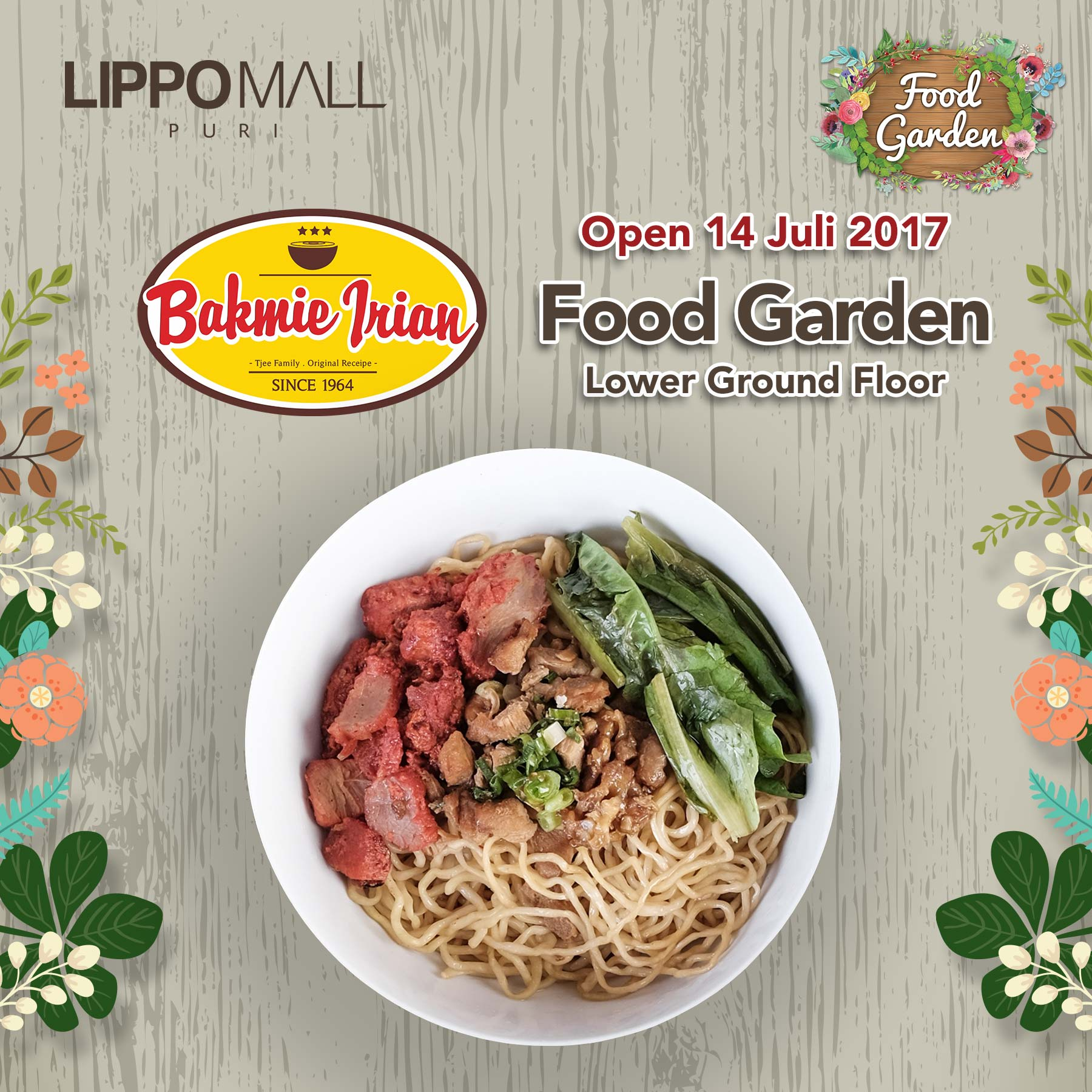 Food garden pictures - New Food Garden Event In Lippo Mall Puri St Moritz