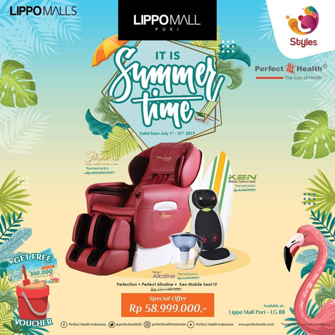 Perfect Health Promo in lippo mall puri st. moritz